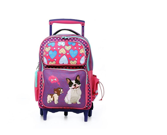 Mochila Con Carro Infantil Para Nena