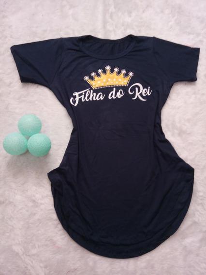 Kit 4 T-shirt Modinha Evangélica Frete Gratis