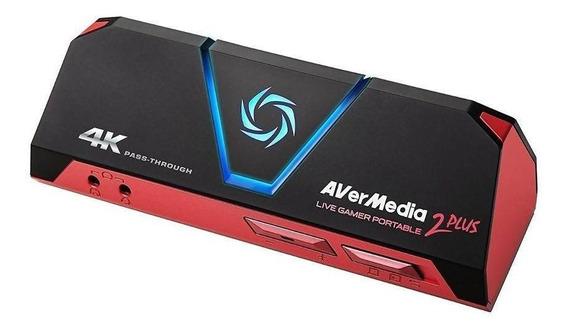 Placa De Captura Avermedia Live Gamer Portable 2 Plus
