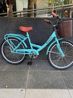 Bicicleta Bassano Vintage Rodado 24 De 9 A 14 Años