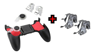 Controle Joystick Gameped +1 Gatilho Free Fire Android Ios