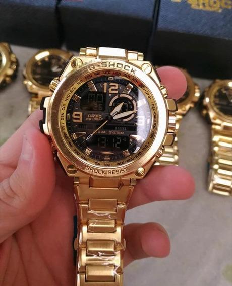Relógio G-shock Dourado