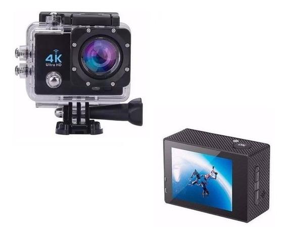Câmera 4k Action Sport Gocam Wi-fi Capacete Moto Mergulho