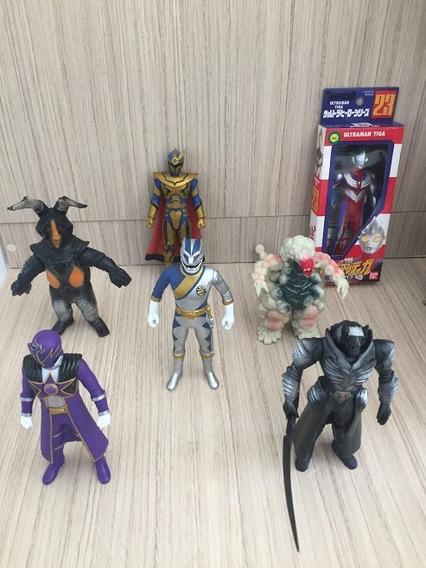 Lote Ultraman / Sentai - Bandai