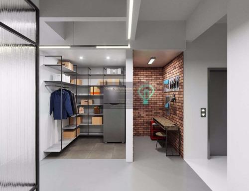 Imagem 1 de 13 de Apartamento Com 1 Dorm, Vila Nova Conceição, São Paulo - R$ 990 Mil, Cod: 215 - V215
