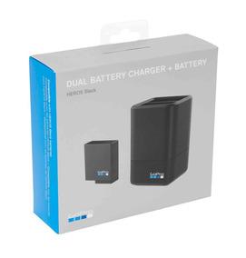 Carregador Duplo / Dual Charger Gopro Hero5 Black + Bateria