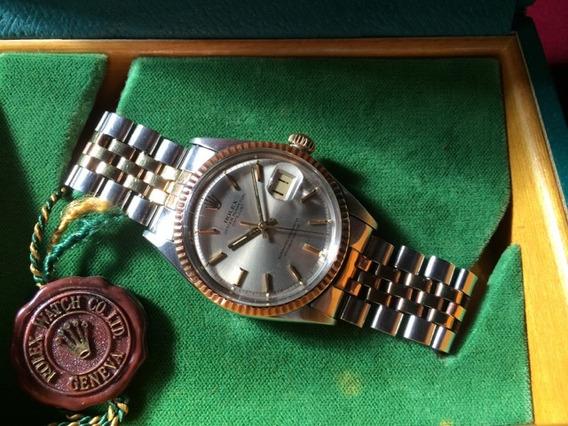 Relógio Rolex Oyster Perpetual Aço-ouro Certificado Original