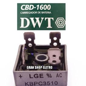 Placa De Diodo Para Carregador De Bateria Dwt Cbd 1600 Novo