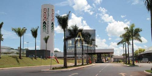 Em Obra - Excelente Galpão Para Locação Com 10.132,14 M² Em Goiânia/go - Confira! - Ga0533