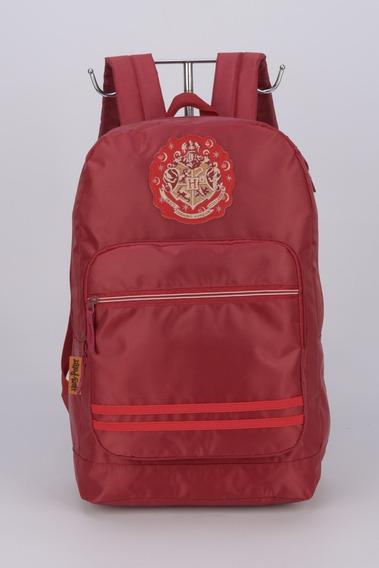 Mochila Harry Potter House Hogwarts Vermelho Ms45712 - Luxce