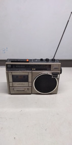Rádio Toca Fitas Panasonic Rx-1274a No Estado