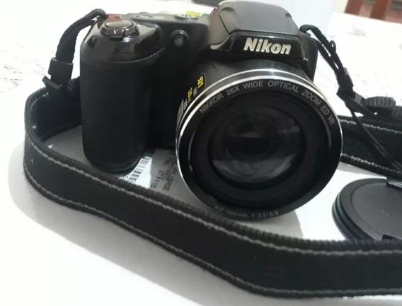 Câmera Nikon L810 Super Zoom Barbada Acompanha