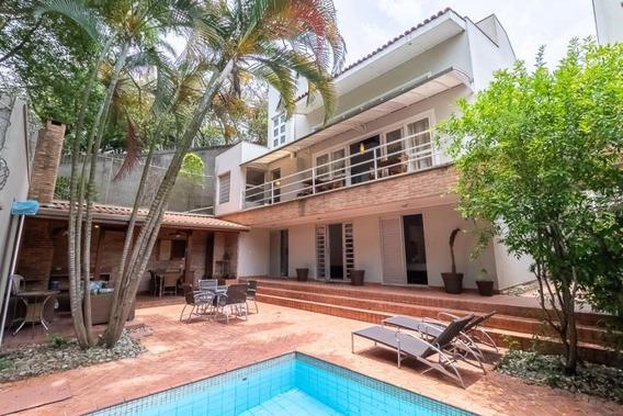Casa Para Venda Em São Paulo, Brooklin, 4 Dormitórios, 4 Suítes, 6 Banheiros, 3 Vagas - Afc 4132v_1-1322982