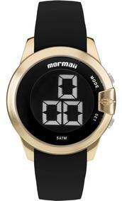 Relógio Mormaii Feminino Digital Caixa Dourada Mobjt007/8d