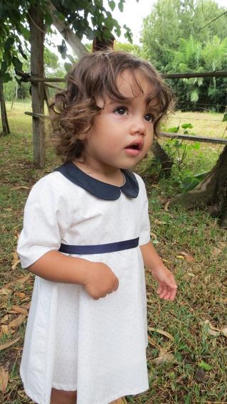 Vestido Mariana Donora 3 Años A 8 Años