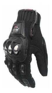 Guantes Para Moto Madbike Mad-10 Con Protecciones De Metal