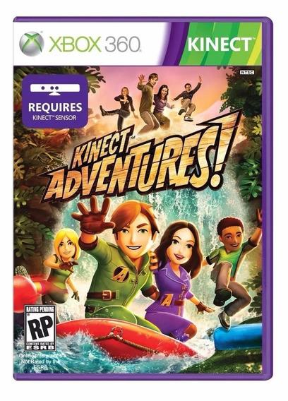 Game Xbox 360 Kinect Adventures Estojo Original Novo Lacrado