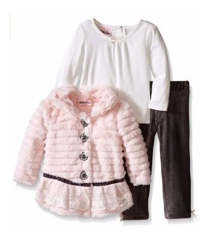 Conjunto Fleece Importado Little Lass