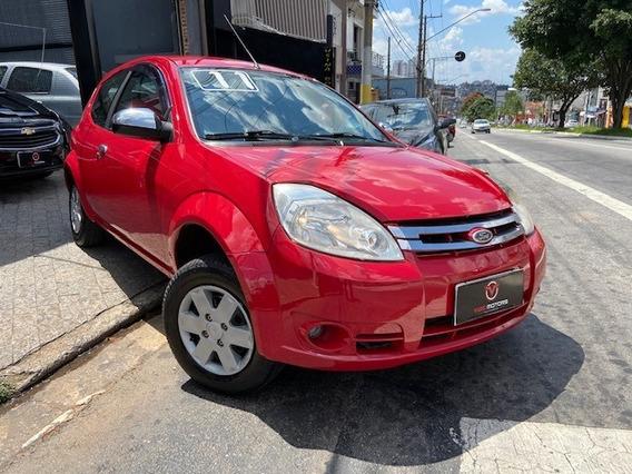 Ford Ka 1.0 Flex 2011 Muito Novo Com Direcao Hidraulica!!!