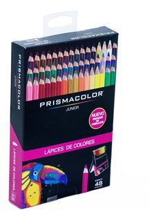 Colores Redondos Caja X 48 Marca Prismacolor Junior