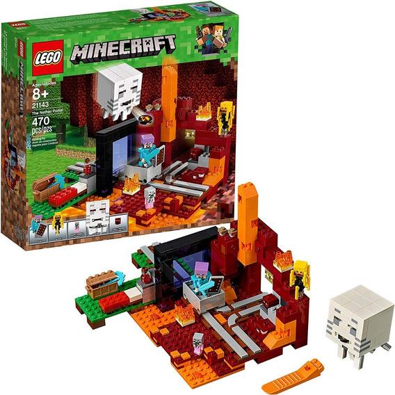 Lego Minecraft 21143 The Nether Portal 470 Pzs