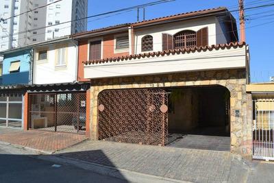 Sobrado 306m² 3 Dorm, 2 Suítes, 3 Vagas, C/ Piscina E Churrasqueira - So0009