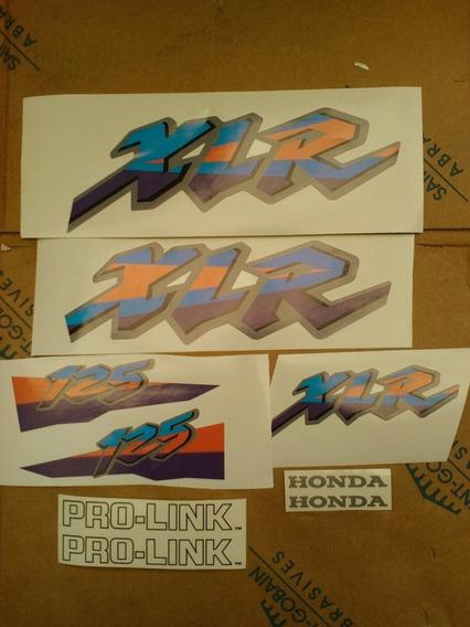 Honda Xlr 125 Calcos