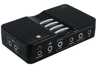 Adaptador De Audio Usb Externa 7.1 Canalesvantec