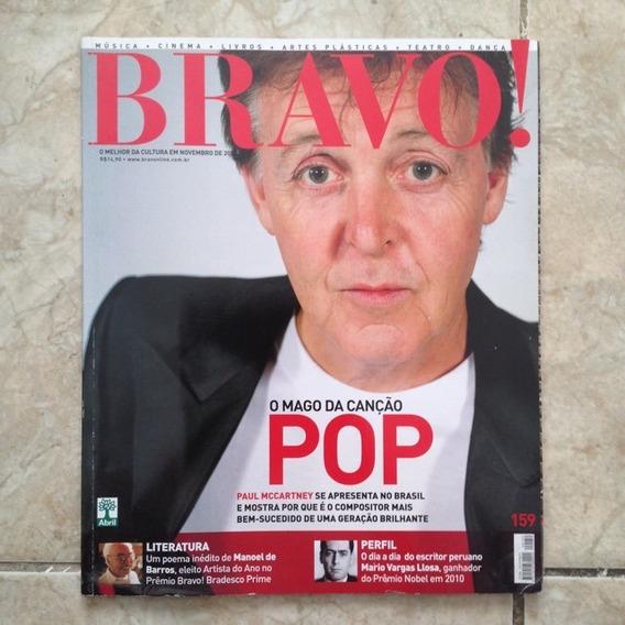 Revista Bravo Paul Mccartney Nov2010 Mario Vargas Llosa