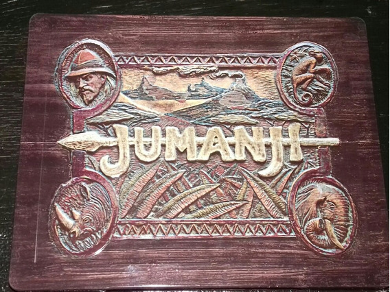 Jumanji Steelbook Bluray Por Pedido