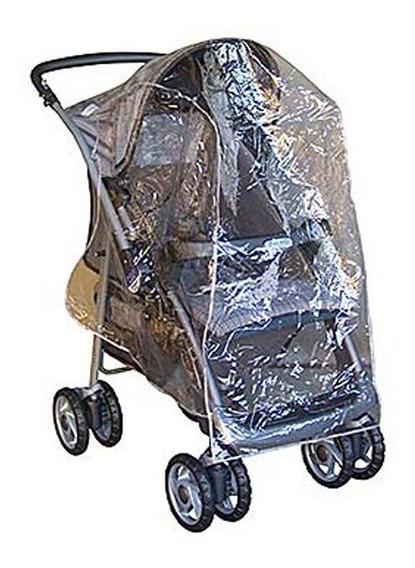 Capa De Chuva Para Carrinho Bebê - Tam 1,10mtx0,80