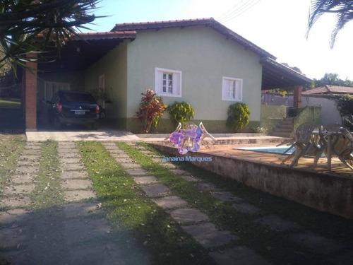Imagem 1 de 18 de Chácara Com 3 Dormitórios À Venda, 1000 M² Por R$ 500.000 - Chácara Dora - Araçariguama/sp. - Ch0105