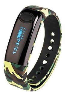 Aimox Wireless Activity Fitness Trackers Smart Band Bluetoot