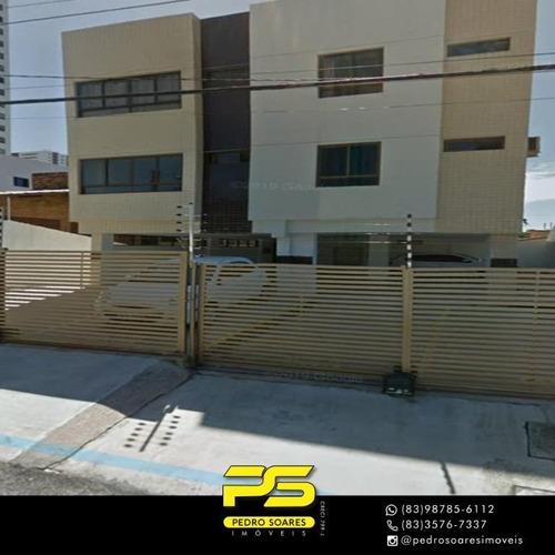 Apartamento À Venda, 90 M² Por R$ 280.000,00 - Pedro Gondim - João Pessoa/pb - Ap3907