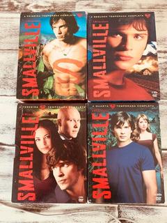 Smallville Temporadas 1, 2, 3 E 4. Originais