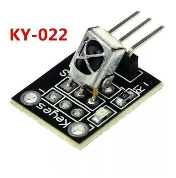 5x Módulo Receptor Infravermelho Ir Ky-022 Arduino Pic