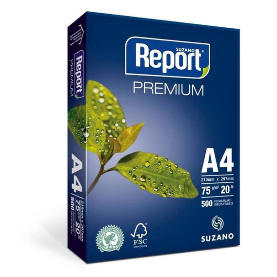 Papel Sulfite Report A4 75gr 500 Folhas