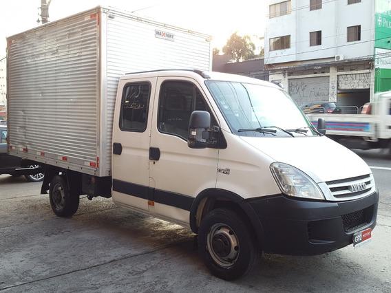 Iveco Daily 35s14 2011/2012 Cabine Dupla Com Bau