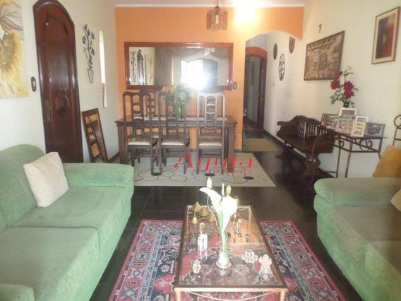 Casa Com 4 Dormitórios À Venda, 200 M² Por R$ 550.000 - Vila Scarpelli - Santo André/sp - Ca0519