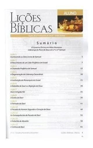 50 Revista Da Escola Dominical Cpad 4 Trimestre 10 Professor