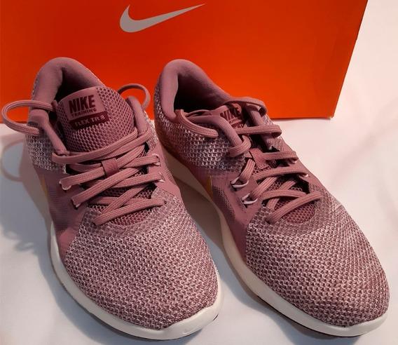 Tenis Nike Flex Trainer 8 Mujer Crossfit Running No. 23.5 Cm