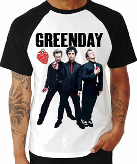 Camisa Camiseta, Banda Rock Greenday, Musica Banda