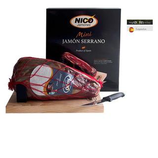 Mini Jamon Serrano 1kg Kit