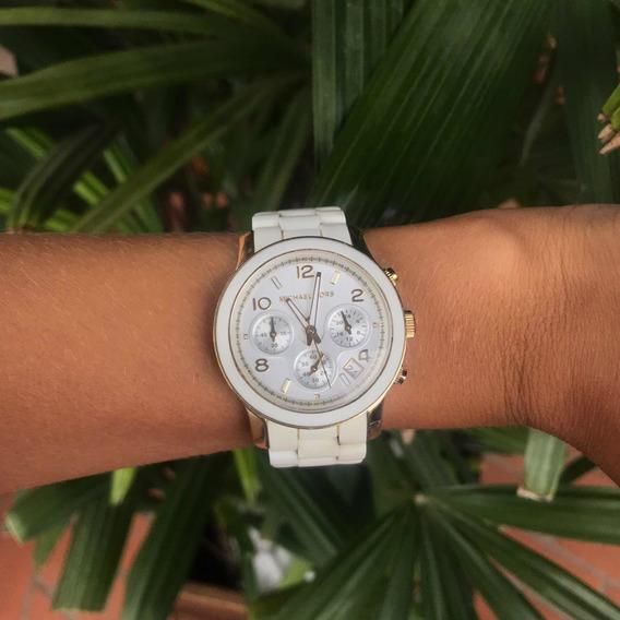 Relógio Michael Kors Branco Original