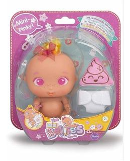 Bellies Mini Bebe Muñeco 13 Cm Apreta Sorpresa B14789 Full