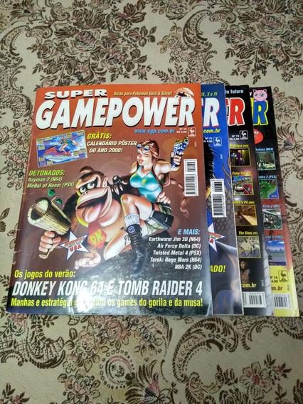Coleção De Revistas Super Game Power