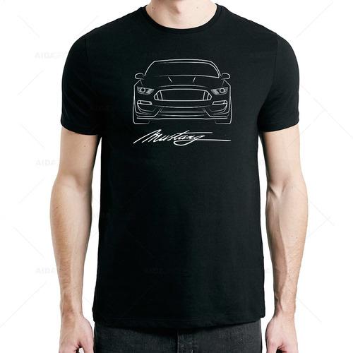 HangTime Ford Mustang Placa de Metal para matr/ícula de 6 x 12 con Fondo Negro