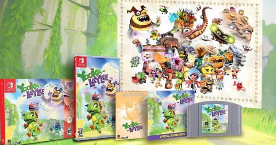 Yooka Laylee Collectors Edition Limited Run Nintendo Switch