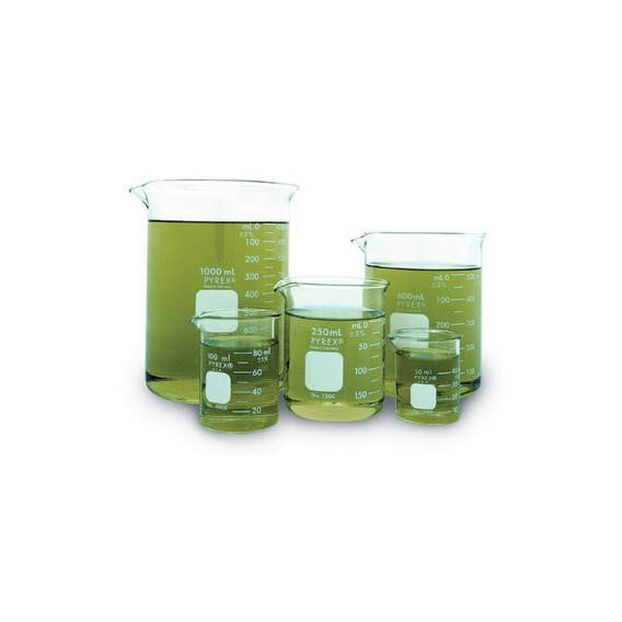 Corning Pyrex Griffin Low Form Corning Beaker Set (juego De