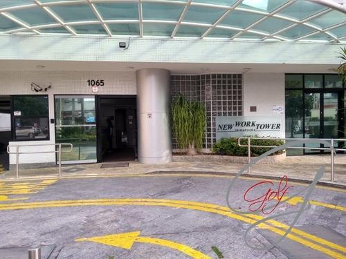 Sala Comercial Na Rua Borges Lagoa Vila Clementino, 43 Ms. 3 Ambientes, Prédio Moderno, 2 Vagas, Estacionamento Para Visitantes - Sa00009 - 69390080